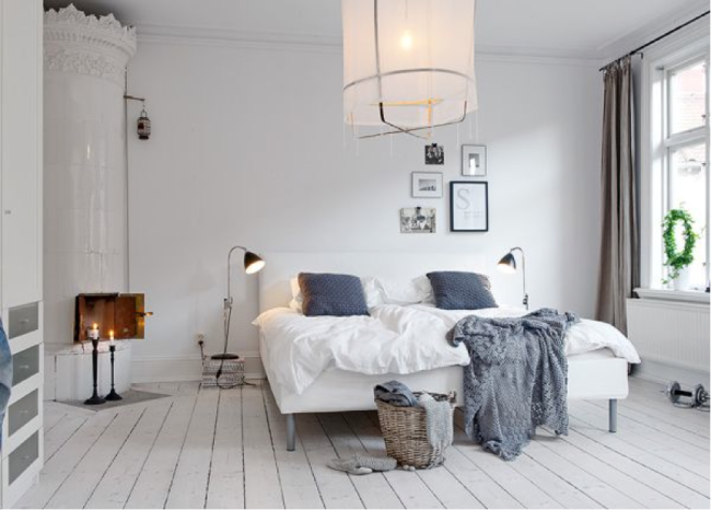 Scandinavian bedroom 2